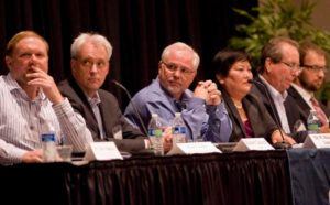 A panel of scientists