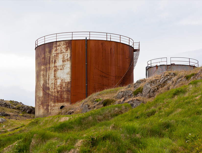 above ground storage tanks for SPCC plan, groundwater extraction