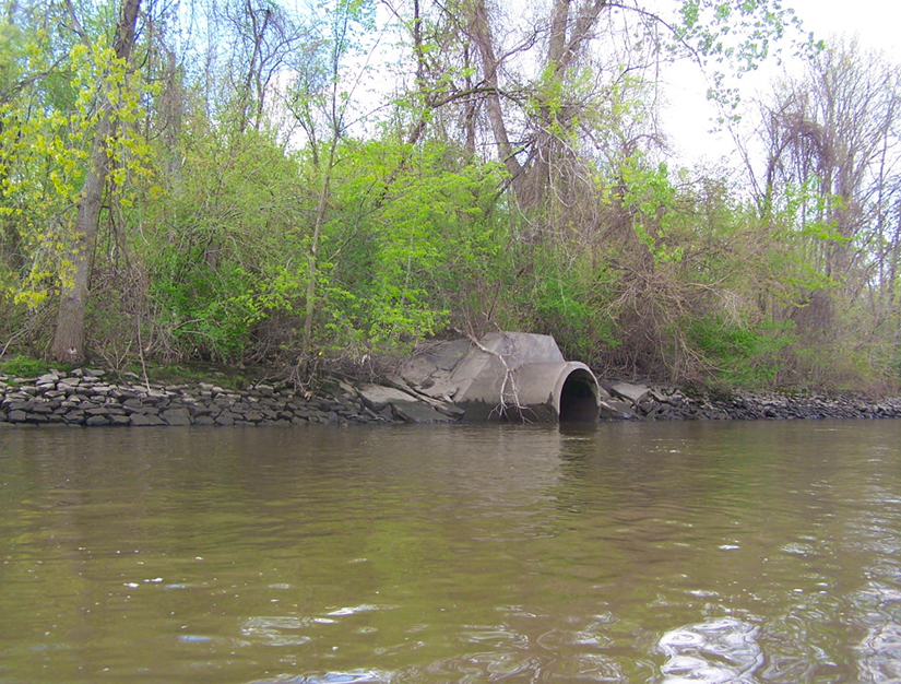Stormwater Management outfall